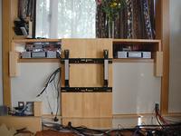 壁掛けテレビ台の自作