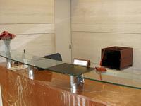 木製ファイル棚の設置