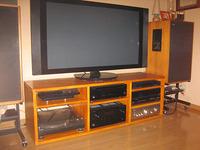 TV台兼用AVラック