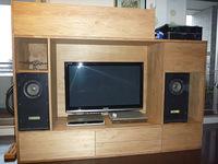 大型TV収納棚