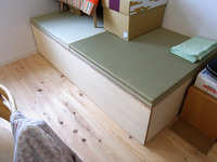 畳収納ユニットの自作